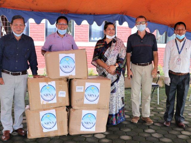 गैरआवासीय नेपाली संघद्वारा गण्डकी प्रदेशलाई सहयोग